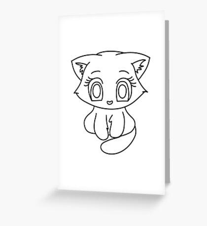 Kitten#1 Greeting Card