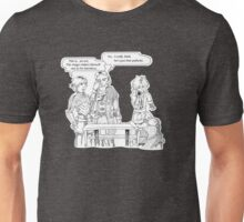 DADC #17 - Anders, Fenris, Hawke, and Emile Unisex T-Shirt