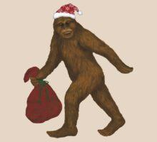 Bigfoot Santa T-Shirt