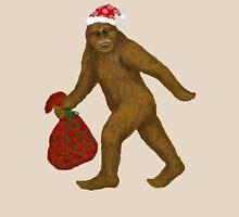 Bigfoot Santa Unisex T-Shirt