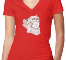 DADC #19 - Flemeth Women's Fitted V-Neck T-Shirt