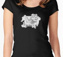 DADC #21 - Anders, Fenris, and Hawke Women's Fitted Scoop T-Shirt