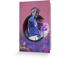Kevin Pillar - Flower Crown Greeting Card