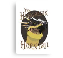 The Hungarian Horntail- Harry Potter Canvas Print