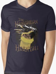 The Hungarian Horntail- Harry Potter Mens V-Neck T-Shirt