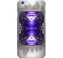 Blue Poppy Fish Abstract iPhone Case/Skin