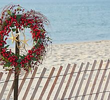 Christmas at the Beach by Maria Dryfhout