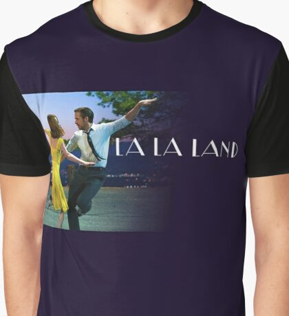 La la land logo dance Graphic T-Shirt