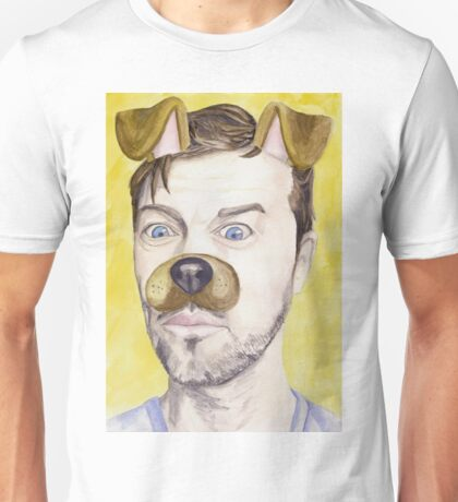 Misha Collins, watercolor painting Unisex T-Shirt