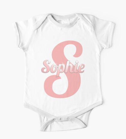 Baby Sophie is a Superstar One Piece - Short Sleeve