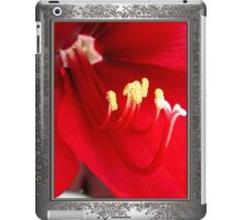 Amaryllis named Black Pearl iPad Case/Skin