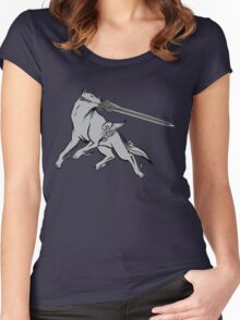 Great Grey Wolf Sif Women's Fitted Scoop T-Shirt