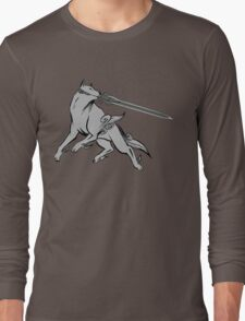 Great Grey Wolf Sif Long Sleeve T-Shirt