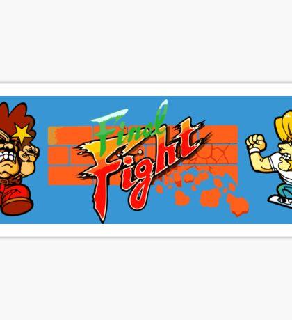 Final Fight (Chibi Art) Sticker