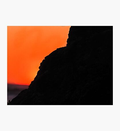 Sunset at the California Cliffs Photographic Print