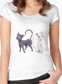 Luna & Artemis Women's Fitted Scoop T-Shirt
