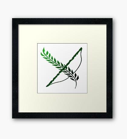 Dalish Elves Framed Print