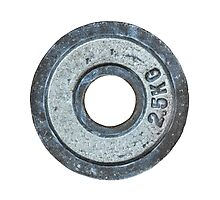 Barbell Weight Photographic Print