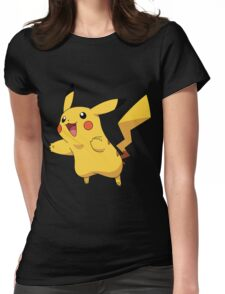 pika jump Womens Fitted T-Shirt