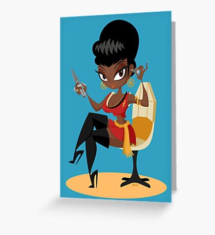Uhura  Greeting Card