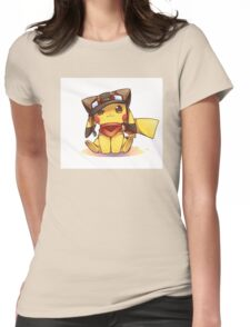 pika cute Womens Fitted T-Shirt