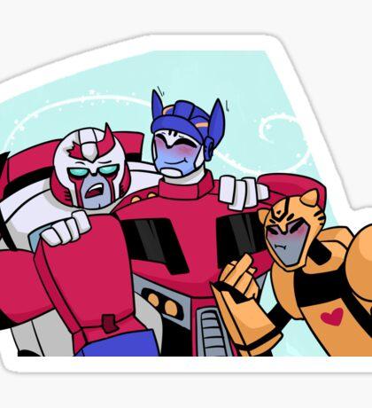 Autobot Family Sticker