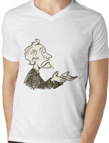 may be dunno Mens V-Neck T-Shirt