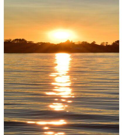 Sunset at Crystal Bay Sticker