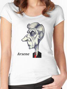 Arsene Wenger Women's Fitted Scoop T-Shirt