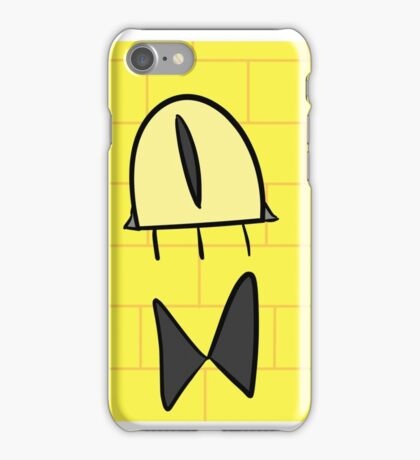 Bill nye the triangle guy iPhone Case/Skin