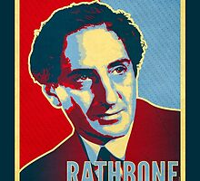 The Definitive Holmes - Rathbone (Card) by ifourdezign