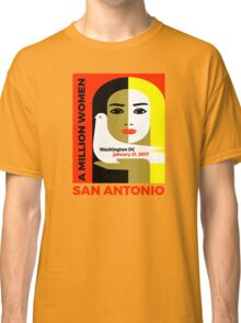 Women's March on San Antonio, Texas January 21, 2017 Classic T-Shirt
