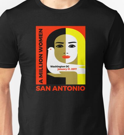 Women's March on San Antonio, Texas January 21, 2017 Unisex T-Shirt
