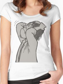 im crazy Women's Fitted Scoop T-Shirt