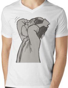 im crazy Mens V-Neck T-Shirt