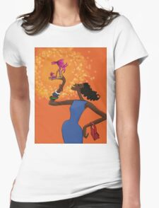 Presenting - Shoe! Womens Fitted T-Shirt