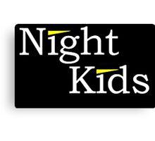 Night Kids Canvas Print