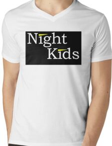 Night Kids Mens V-Neck T-Shirt