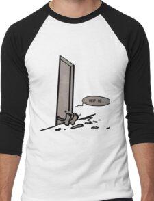 help me Men's Baseball ¾ T-Shirt
