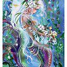 the Flower Girl Mermaid by Robin Pushe'e