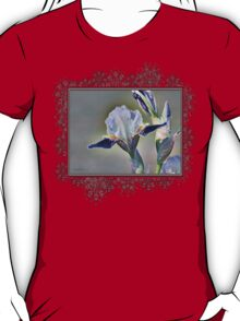 Miniature Tall Bearded Iris named Consummation T-Shirt