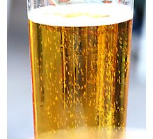 A beer...  Photographic Print
