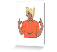 A Waka Flocka Seagulls Greeting Card