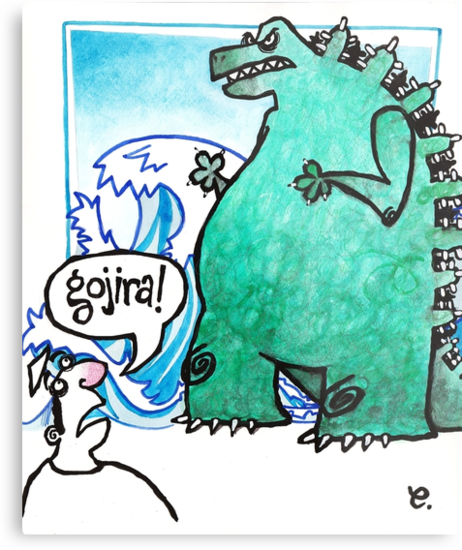 Gojira! by dotmund