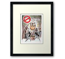 Slothbusters Framed Print