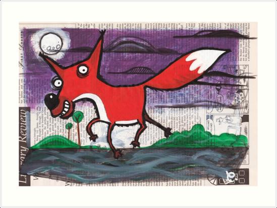 Fox by dotmund