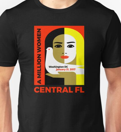 Women's Rally on Central Florida - January 21, 2017 Unisex T-Shirt