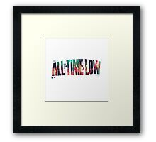 All Time Low Framed Print