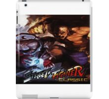Street Fighter Classic iPad Case/Skin