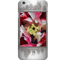 Double Late Peony-Flowered Tulip named Horizon iPhone Case/Skin